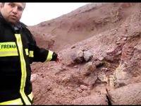 انفجار خط لوله گاز در محور دورود خرم آباد +فیلم
