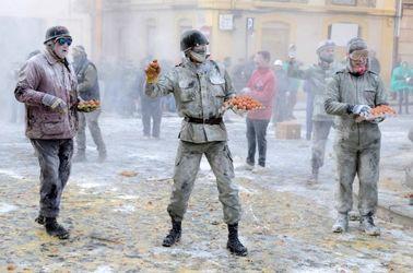 جشن آرد و تخم مرغ در اسپانیا