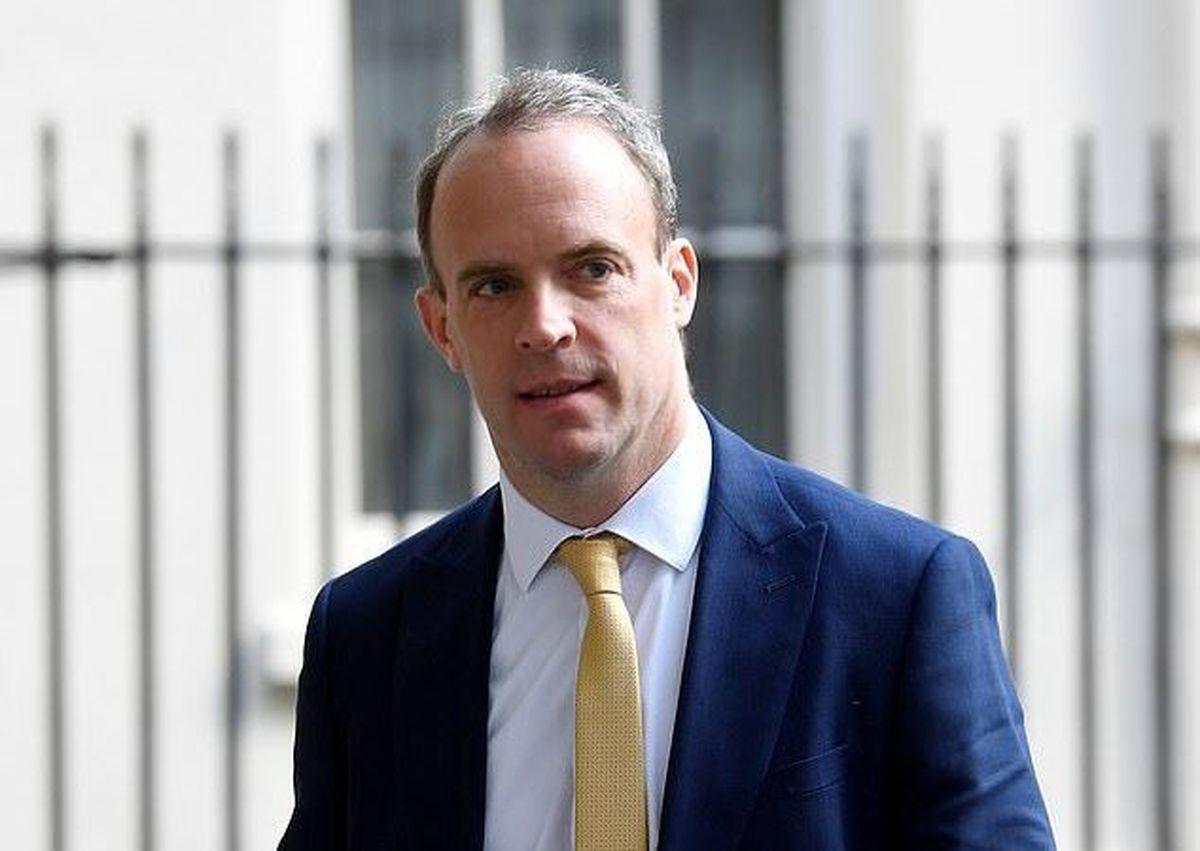 وزیر خارجه انگلیس قرنطینه شد