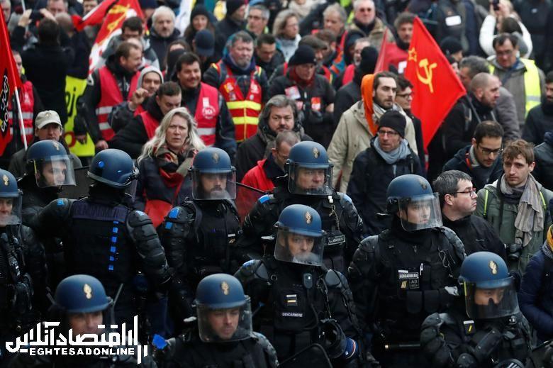 تظاهرات بازنشـسته ها در فرانسـه