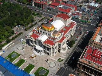 قصر هنرهای زیبا در مکزیک +تصاویر
