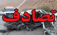 تصادف در عباسآباد ۲کشته برجای گذاشت