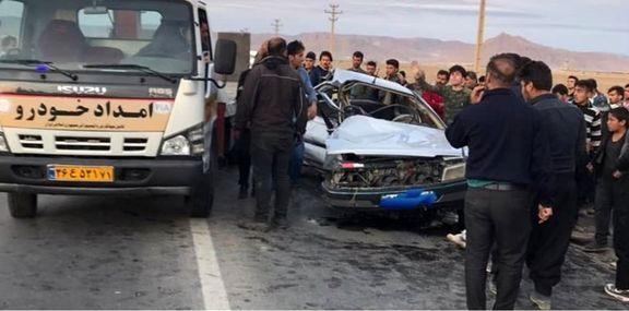 6فوتی در پی تصادف پیکان و پژو در حوالی بهرامآباد