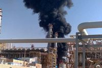 ترکیدگی و آتشسوزی خط لوله انتقال نفت خوزستان به اصفهان
