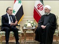 دیدار حسن روحانی با نخست وزیر سوریه +تصاویر