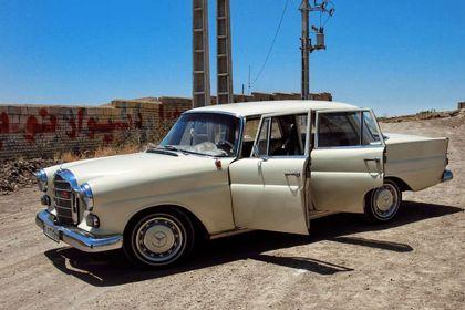 گردهمایی خودروهای کلاسیک در تهران +تصاویر
