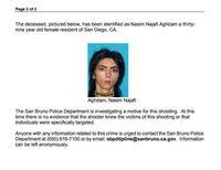 عامل تیراندازی در مقر یوتیوب، زنی ایرانی تبار بود