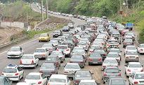 آمار تردد خودرو در جاده ها کماکان افزایشی است