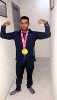 کسب مدال طلای جهانی پرورش اندام توسط یک ایرانی +عکس
