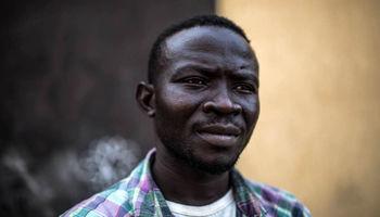 پناهجویان سودانی در اردوگاه لیبی +تصاویر