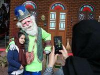 تفریحات نوروزی در بلندترین برج ایران +تصاویر