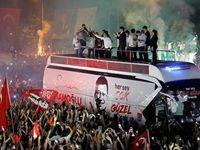 شادی مخالفان اردوغان پس از انتخابات شهرداری استانبول +فیلم