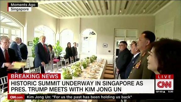 ترامپ و اون ناهار چه میخورند؟