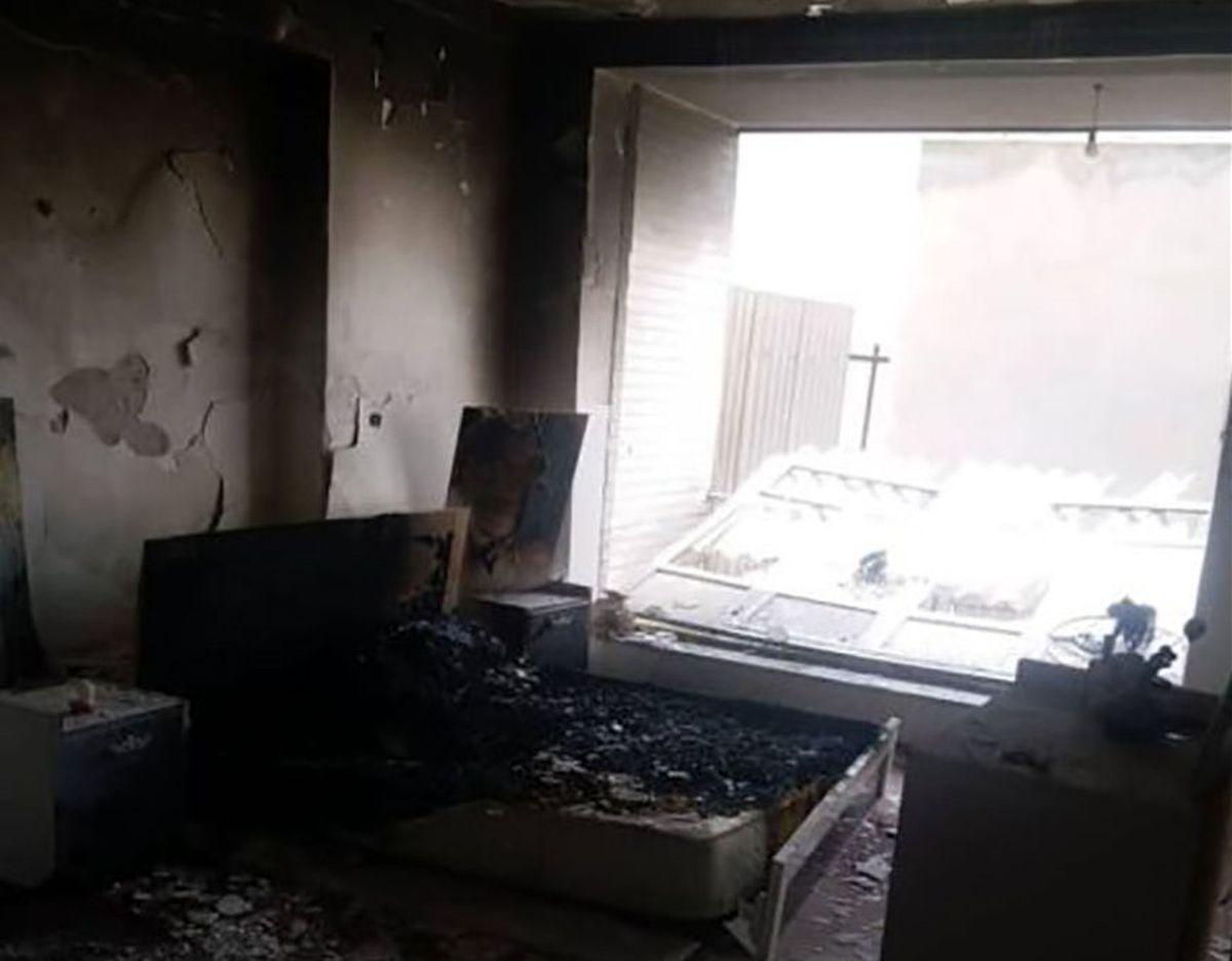 انفجار شدید در خوی کودکی را مصدوم کرد! +عکس