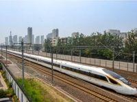 رونمایی از قطار گلولهای پرسرعت در چین +عکس