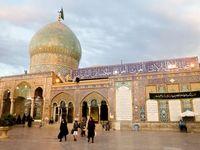 لحظات افطار در حرم حضرت عبدالعظیم (ع) +تصاویر