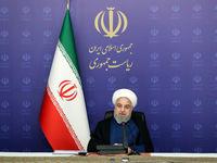 روحانی: امروز برای دنیا روشن است که ایران با تحریم تسلیم نمیشود +فیلم