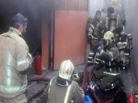 آتش سوزی در بارانداز چند هزار متری