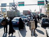 آخرین وضعیت ترافیکی محورهای منتهی به مرزهای عراق