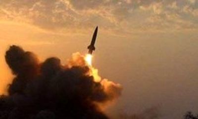 پایگاه نظامی عربستان هدف موشک یمن