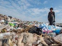 کوه زبالهها، فاجعهای دیگر در جنگلهای شمال! +عکس