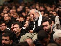 آخرین شب مراسم عزاداری محرم در حسینیه امام برگزار شد +تصاویر