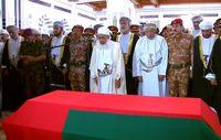 مراسم تشییع پیکر سلطان قابوس +تصاویر