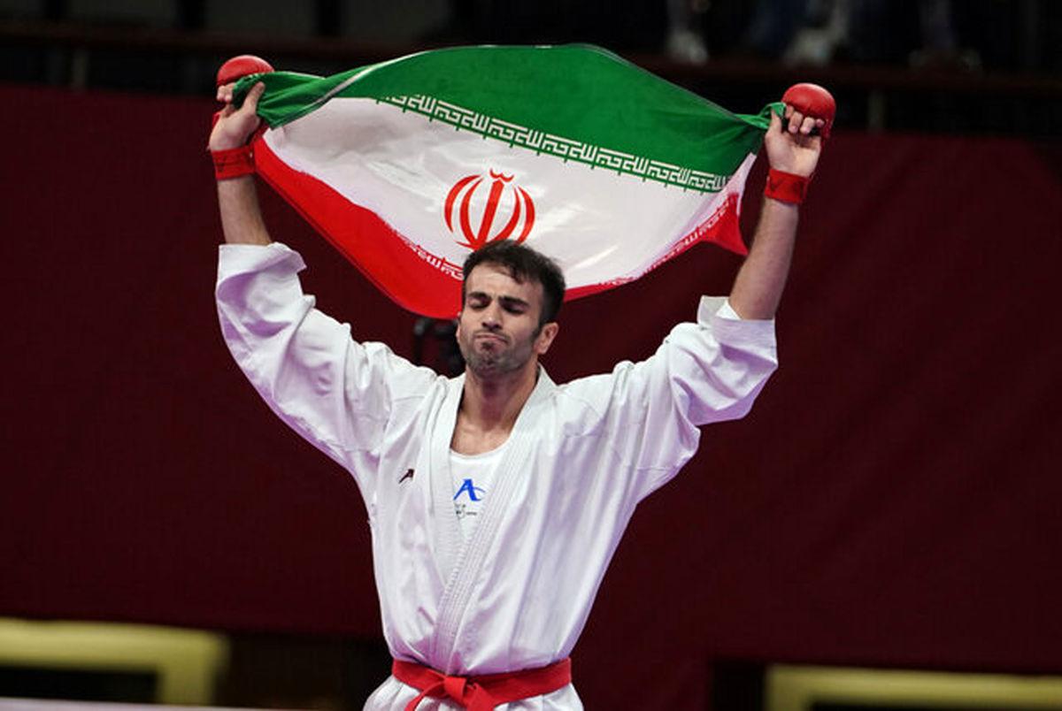 قهرمانی دو ایرانی در لیگ جهانی کاراته