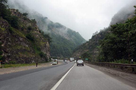 جادههای ۶ استان بارانی است