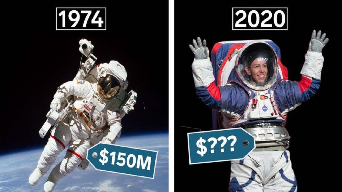 چرا لباس های فضایی ناسا بسیار گران است؟ + عکس