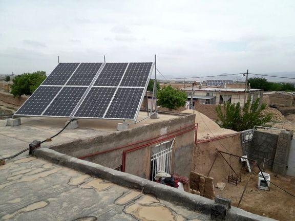 ۲۵هزار خانوار عشایری از پنل خورشیدی برخوردار میشوند