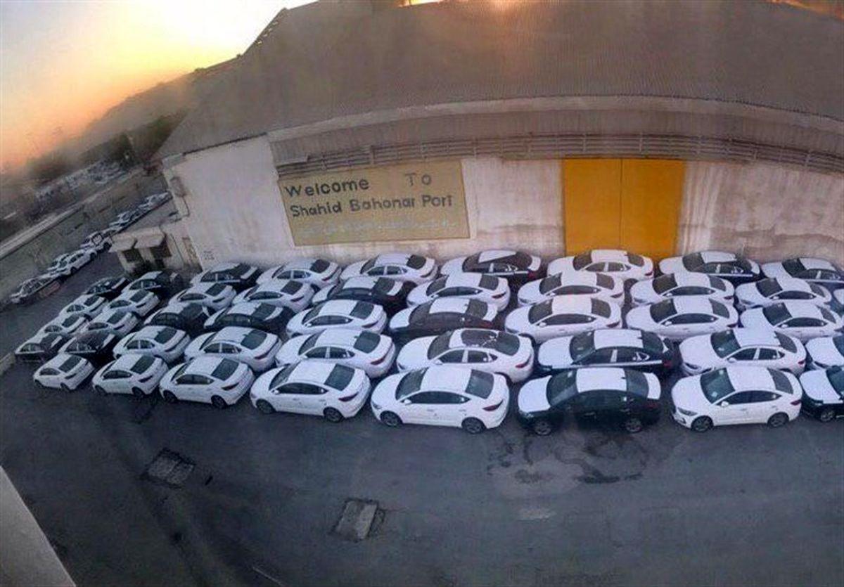 ۲۱۰۰ دستگاه؛ خودروهای دپو شده در گمرکات