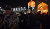 مراسم عزاداری شب رحلت پیامبر اکرم (ص) در مشهد +عکس