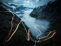 مرگبارترین جادههای جهان +تصاویر