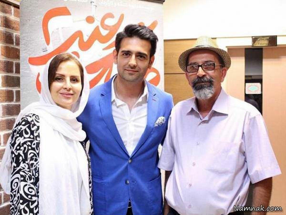 امیرحسین آرمان در اولین فیلمش+عکس