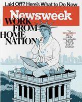 طرح جلد تازهترین شماره نیوزویک