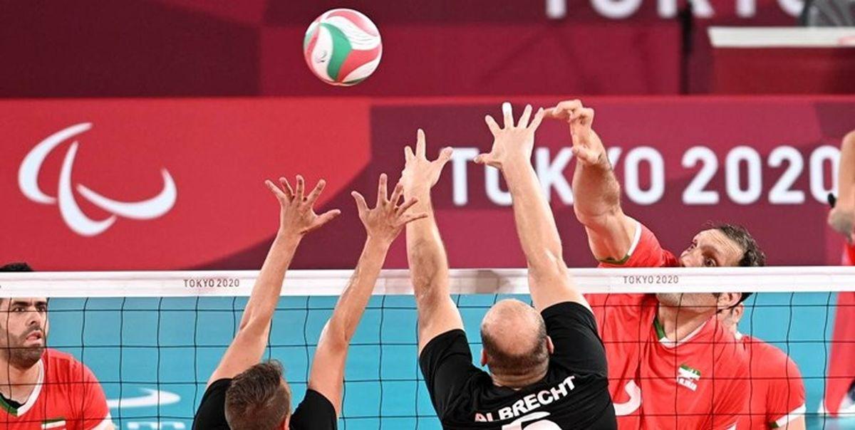 تیم ملی والیبال نشسته ایران با نتیجه ۳ بر صفر برزیل را شکست داد