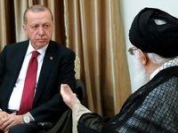 تصاویر دیدار رؤسای جمهور ترکیه و روسیه با رهبر انقلاب