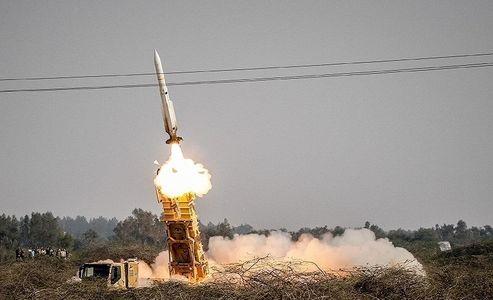شلیک موشک از سامانه پدافند هوایی صیاد۲ +عکس
