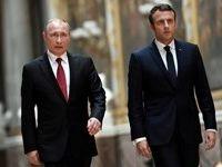 رایزنی روسای جمهور فرانسه و روسیه درباره سوریه