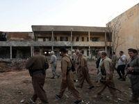 مقر گروهک تروریستی حزب دموکرات پس از انهدام +تصاویر
