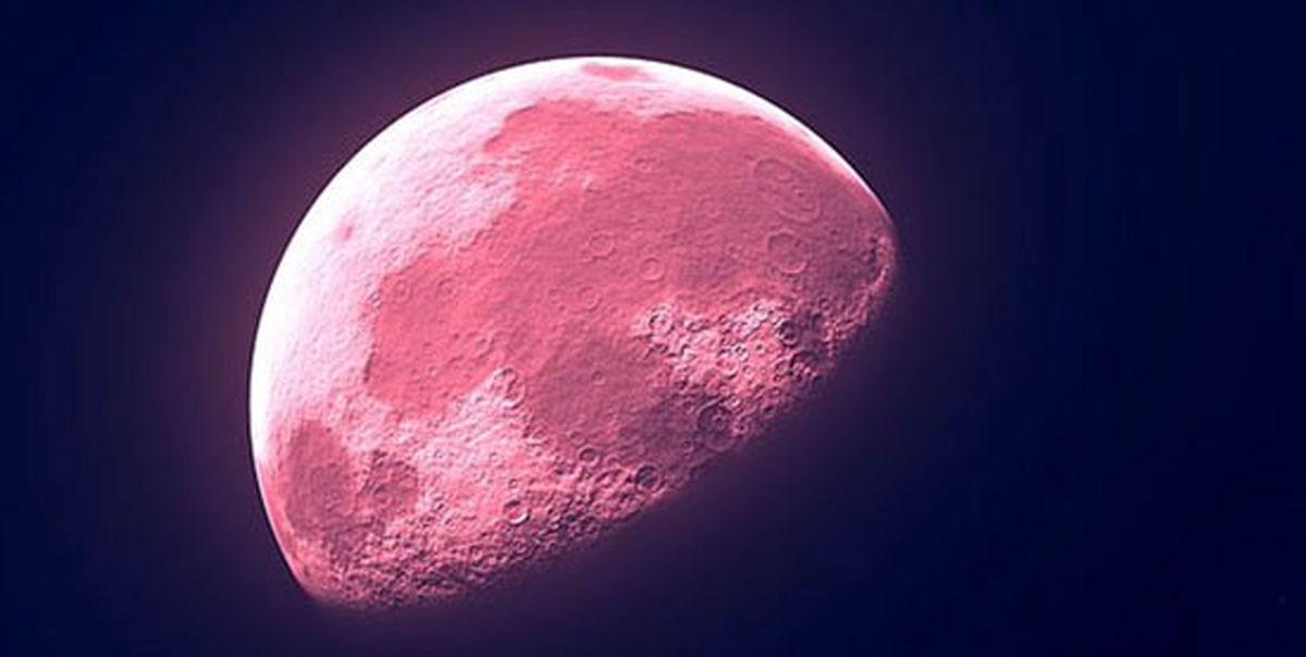 پدیده نجومی ماه صورتی را از دست ندهید +عکس