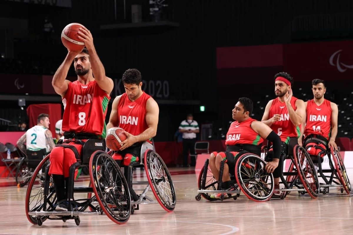 تیم ملی بسکتبال با ویلچر ایران برابر استرالیا شکست خورد