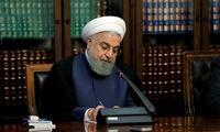 روحانی انتخاب مجدد امامعلی رحمان را تبریک گفت
