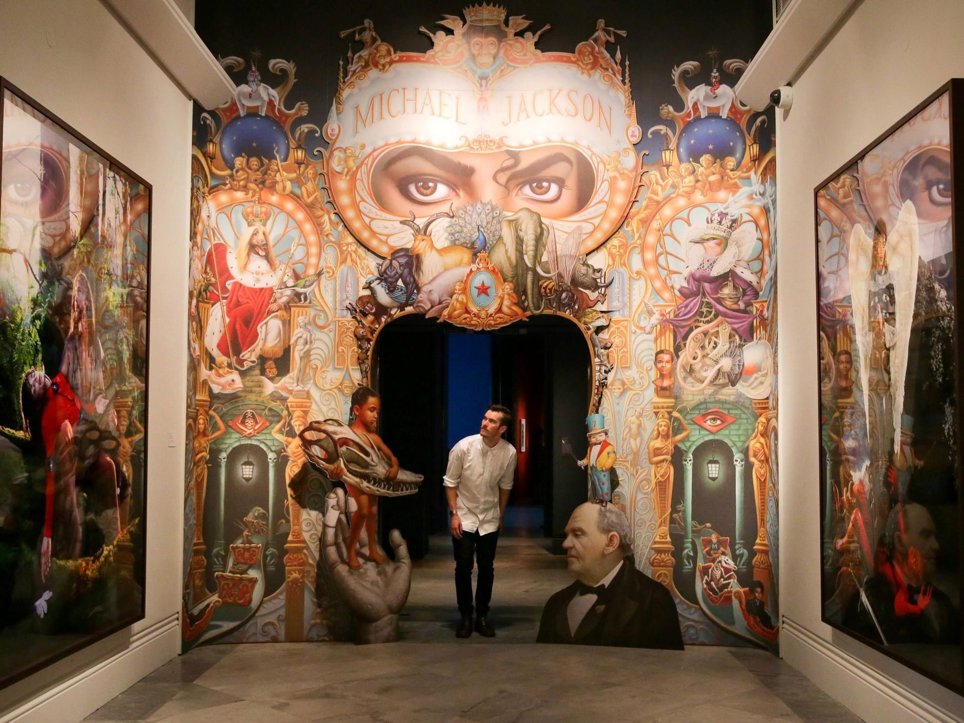 """افتتاح نمایشگاه """"مایکل جکسون"""" در لندن"""