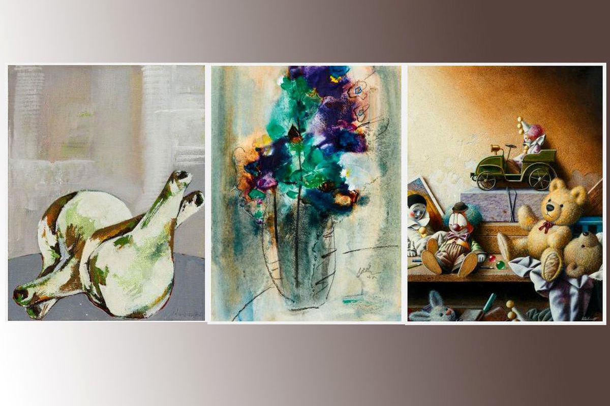 حراج 14 اثر ایرانی در کنار آثار مهمترین هنرمندان جهان