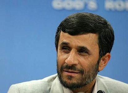 """احمدینژاد به """"جنت آباد"""" رفت"""