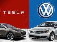 فولکس واگن خودروهای برقی را نصف قیمت تسلا میفروشد