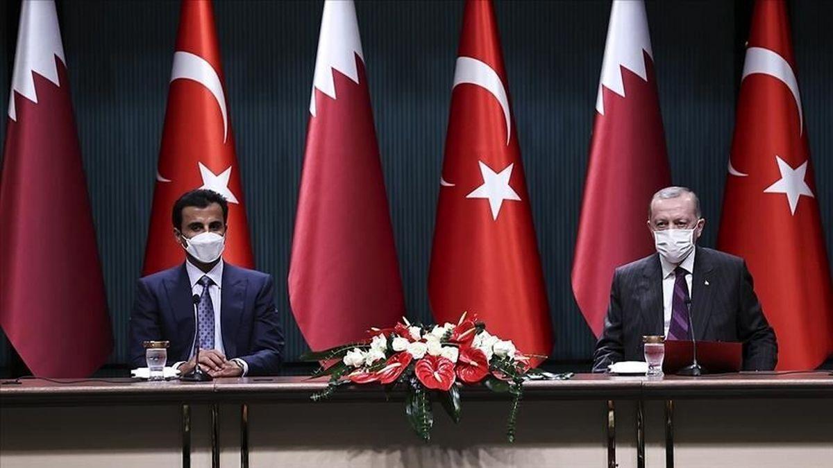ترکیه و قطر ۱۰توافقنامه همکاری امضاء کردند