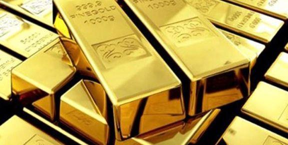 طلا 12دلار گران شد